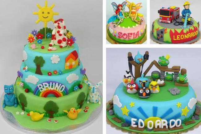 Torte Cake Design Per Bambini Immagini : cake design compleannoFestalandia
