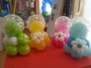 centrotavola palle multicolor