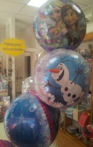 frozen palloni