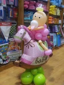 palloncini nascita femmina