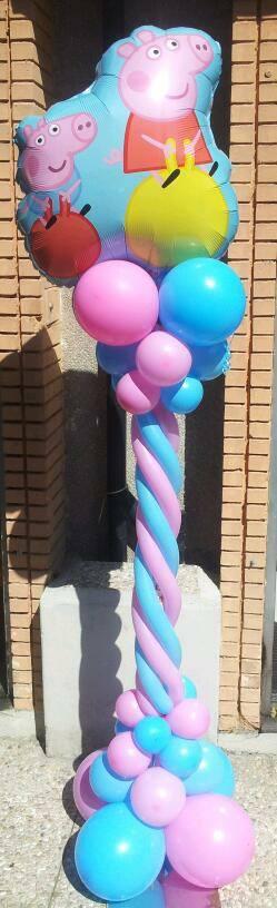 peppa pig palloncini