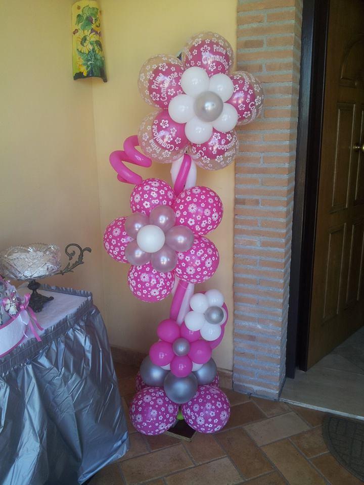 Palloncini comunione - Allestimento casa della sposa ...