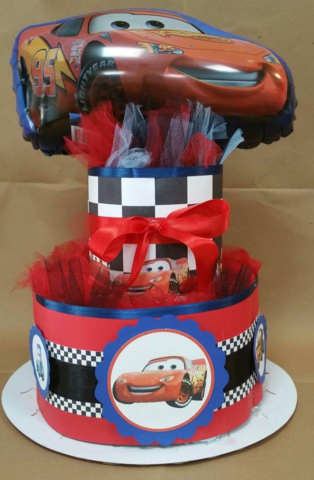 torta pannolini cars