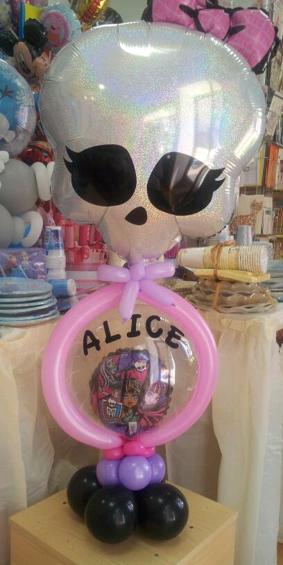 pallone nel pallone monster high